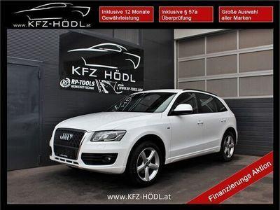 gebraucht Audi Q5 2,0 TDI quattro DPF*S-line* SUV / Geländewagen
