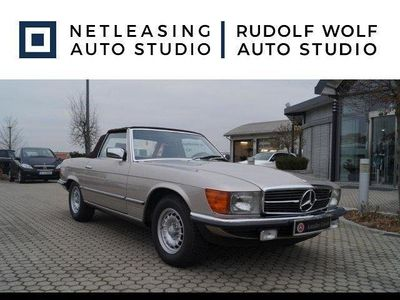 gebraucht Mercedes 280 SLDt. Fzg.+Scheckheft+Leder+orig. 80tkm Tempomat