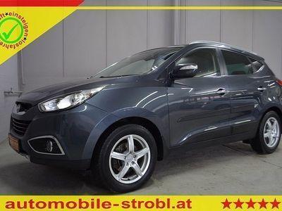 gebraucht Hyundai ix35 2,0 CRDi Prem 4WD/Leder/AHK/PDC uvm...!GARANTIE-G