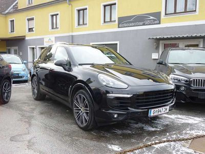 gebraucht Porsche Cayenne II Platinum Edition Aut.*Luft*Chrono*21 Zoll*LED*