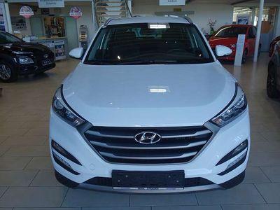 gebraucht Hyundai Tucson 2,0 CRDI 4WD Premium SUV / Geländewagen