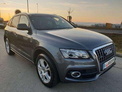 gebraucht Audi Q5 2,0 TDI Quattro DPF S Line *** Finanzierung ohne Anzhalung*** SUV / Geländewagen