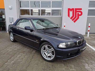 gebraucht BMW 323 Cabriolet 3er-Reihe Ci Cabrio Ö-Paket Aut. *inkl. Hardtop* / Roadster