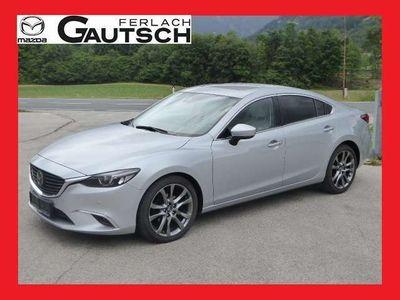 """gebraucht Mazda 6 CD175 Revolution Top SD """"Leder weiss"""" Limousine"""