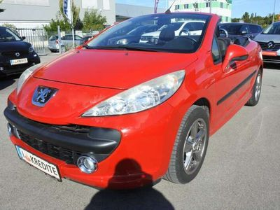 gebraucht Peugeot 207 CC Active 1,6 16V+NUR 40000KM+OPTISCHE MÄNGEL+