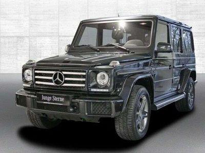 gebraucht Mercedes G500 G-Klasse4MATIC designo Standheizung SUV / Geländewagen,