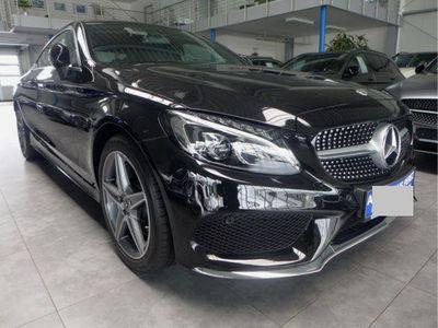 brugt Mercedes C250 Coupe Aut. 9-G 2xAMG Line LED Navi Kamera SHZG