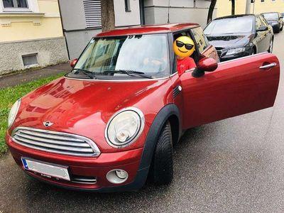 gebraucht Mini ONE R56 in rot (inkl. neue Alljahres Reifen ) Klein-/ Kompaktwagen