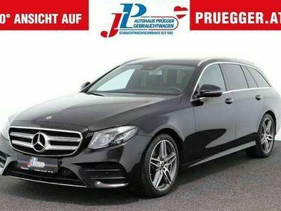 gebraucht Mercedes E220 Kombi Autom AMG LINE LED NAVI LUFT 19zoll