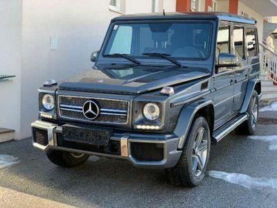 gebraucht Mercedes G350 G-KlasseBlueTEC SW AMG Sthz. AHK SD Distr H&K designo SUV / Geländewagen