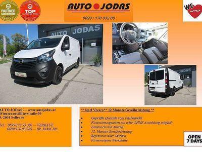 gebraucht Opel Vivaro Kasten L1H1 2,9t B*AHK*12M. Gewährleistung** Klein-/ Kompaktwagen