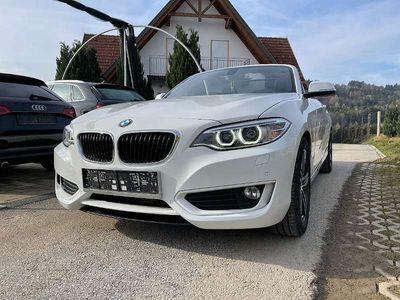 gebraucht BMW 218 2er-Reihe d Cabrio, Xenon, Navi, Automatik, Sitzheizung, 58.000km, Bluetooth, Multifunktion uvm Cabrio / Roadster