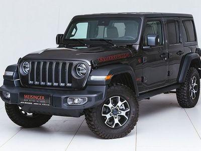 gebraucht Jeep Wrangler Unlimited Rubicon 2,2 CRDi Aut., Unlimited Rubicon, 200 PS, 4 Türen, Automatik