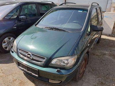 gebraucht Opel Zafira Flexxline Plus 2,2 16V DTI Kombi / Family