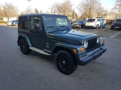 gebraucht Jeep Wrangler 4,0 Sahara Hard Top Aut.