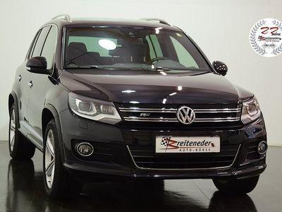 gebraucht VW Tiguan 2,0 TDI Sport R Line / Navi / Xenon