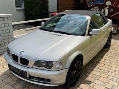 gebraucht BMW 318 Cabriolet 3er-Reihe Cabrio E46 Aut.