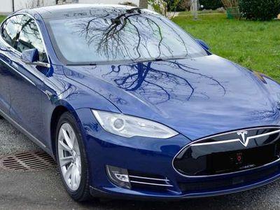 gebraucht Tesla Model S 70kWh (mit Batterie) Vollausstattung