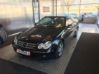 gebraucht Mercedes CLK200 Komp. Cabrio Elegance Sport Aut.