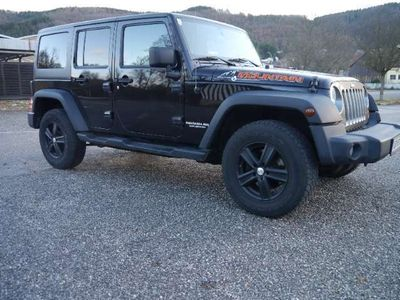 brugt Jeep Wrangler Unlimited Mountain 2,8 CRD Aut. SUV /