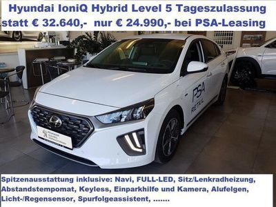 gebraucht Hyundai Ioniq 1,6 GDi Hybrid Level 5 DCT