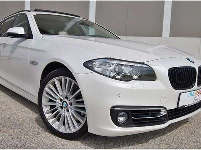 gebraucht BMW 535 5er-Reihe d xDrive Österreich-Paket Touring Aut. ***PANORAMA/HEAD-UP*** Kombi / Family Van