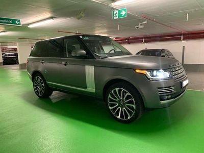gebraucht Land Rover Range Rover 4.4 SDV8 Autobiography DPF SUV / Geländewagen