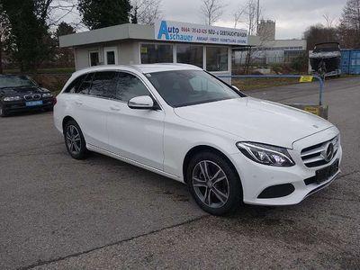 gebraucht Mercedes E250 C-Klasse d 7 G tronic Avantg.,4 Mat. DISTRONIC LEDER NAVI Kombi / Family Van