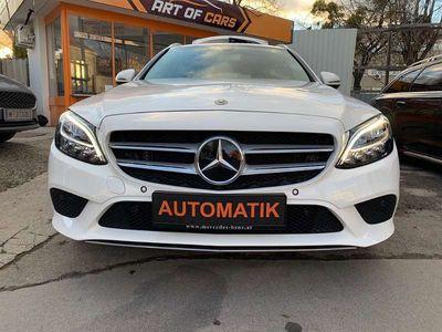 gebraucht Mercedes C180 C-Klassed T Avantgarde nur 11tkm /NAVI/KAMERA/LED Kombi / Family Van