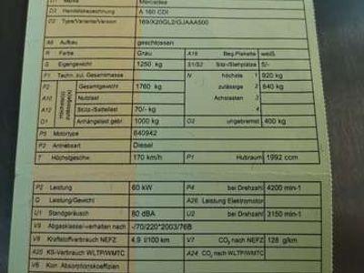 gebraucht Mercedes A160 Classic CDI