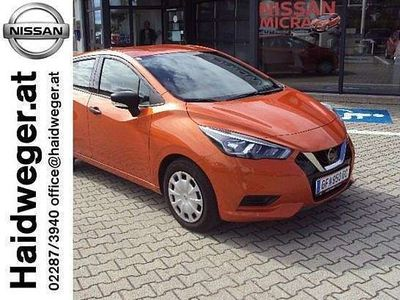 gebraucht Nissan Micra 1,0 IG 71 Visia Plus Limousine