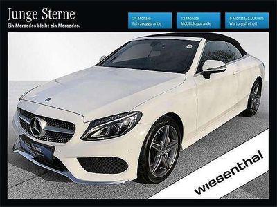 gebraucht Mercedes C200 C-KlasseCabrio 4MATIC Aut. Cabrio / Roadster