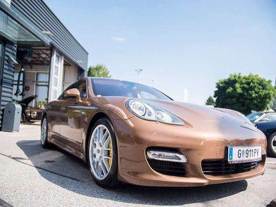 gebraucht Porsche Panamera Turbo DSG Sportwagen / Coupé,