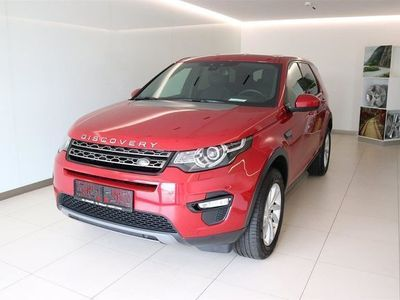 gebraucht Land Rover Discovery Sport SE 2,0 TD4 4WD 150PS AUTOMATIK