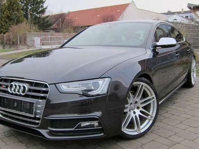 """gebraucht Audi S5 LAVAGRAU PERLEFFEKT/2.BESITZ/20""""/ALLE EXTRAS"""