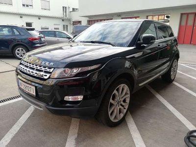 gebraucht Land Rover Range Rover evoque 2,2 SD4 Allrad Automatik SUV / Geländewagen