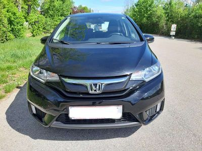 gebraucht Honda Jazz 1,3 Comfort Schwarz Klein-/ Kompaktwagen,