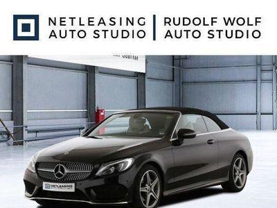 brugt Mercedes C200 Cabrio AMG+Cabrio-Komf+Navi+LED High+Airsc
