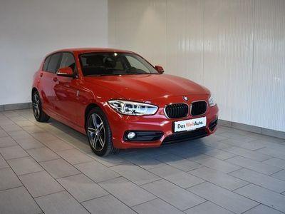 gebraucht BMW 116 d Sport Line