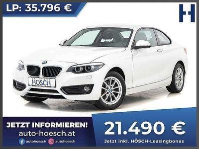 gebraucht BMW 218 2er-Reihe i Coupe Advantage Sportwagen / Coupé
