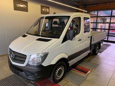 gebraucht Mercedes Sprinter Pritsche Doppelkabine 314 CDI 3665 143PS **Netto