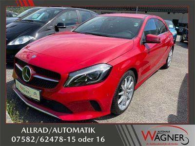 gebraucht Mercedes A220 CDI BlueEfficiency 4MATIC Aut. *AHK*