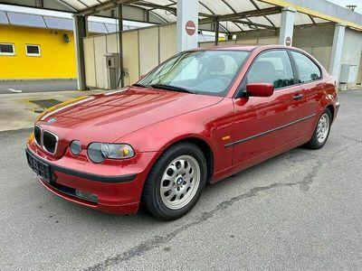 gebraucht BMW 316 Compact 3er-Reihe ti Österreich-Paket Sportwagen / Coupé