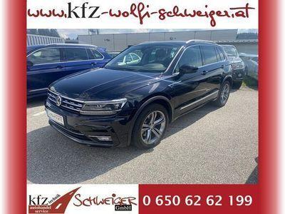 gebraucht VW Tiguan 2,0 TDI SCR 4Motion Highline DSG R-LINE!!! SUV / Geländewagen