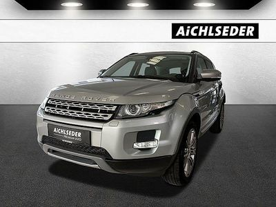 gebraucht Land Rover Range Rover evoque Prestige 2,2 SD4, 190 PS, 5 Türen, Schaltgetriebe