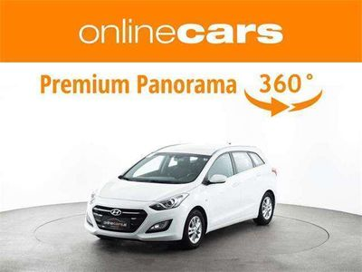 gebraucht Hyundai i30 CW 1.4 CRDi AHK TEMP SHZ WENIG KM