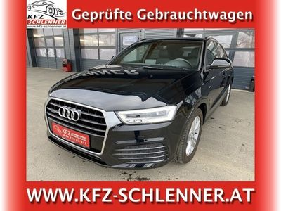 gebraucht Audi Q3 2,0 TDI Sport quattro S-tronic/LED/NAVI SUV / Geländewagen