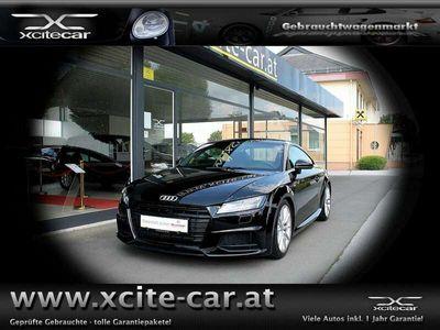 gebraucht Audi TT Coupé 2,0 TFSI S-LINE; TOP AUSSTAUNG; inkl. 12 ...
