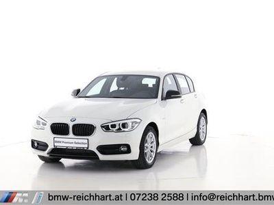 gebraucht BMW 116 1er-Reihe d Sport Line Limousine