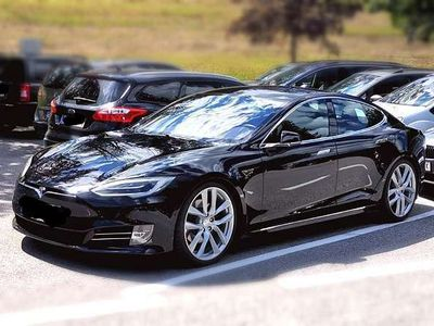 gebraucht Tesla Model S 90D Facelift, AP1, WerksGarantie, Nextgen, Premium Limousine